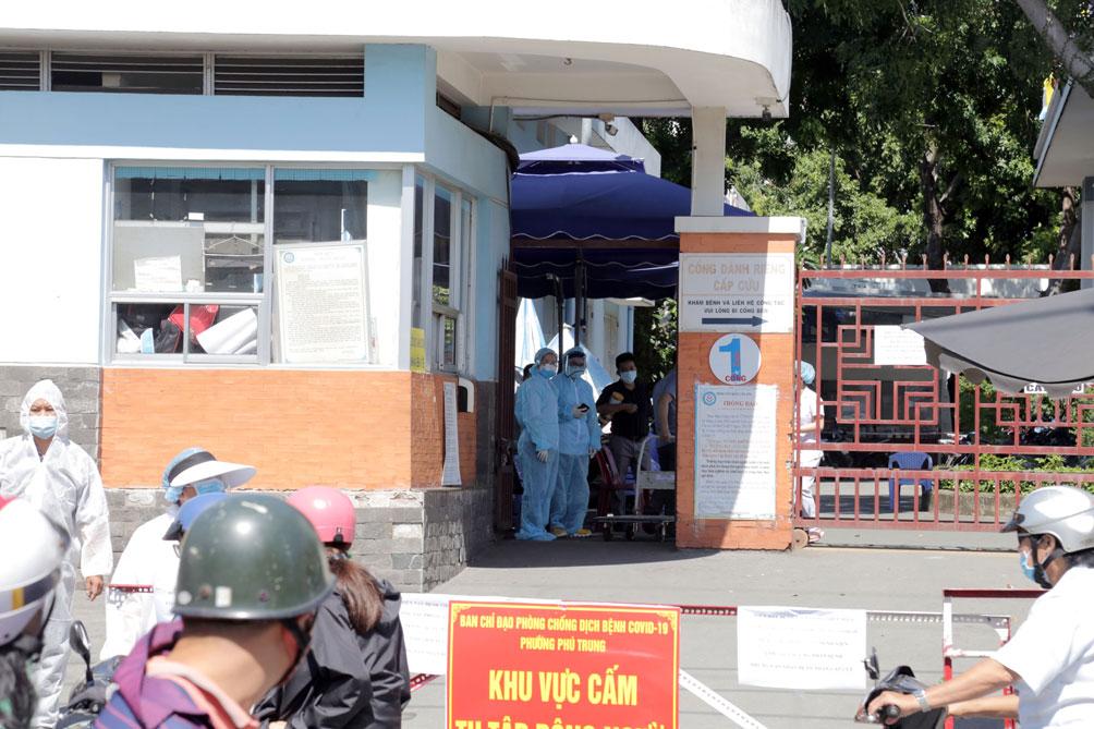 TP.HCM: Phong tỏa bệnh viện quận Tân Phú - 1