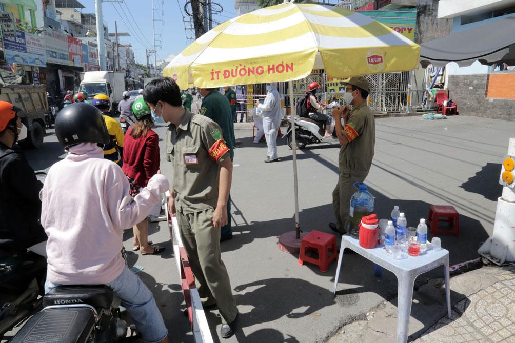 TP.HCM: Phong tỏa bệnh viện quận Tân Phú - 5