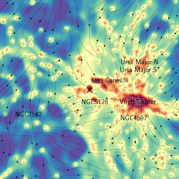 """Thiên hà chứa Trái Đất bị """"sợi xích ma"""" nối với các thiên hà khác - 1"""