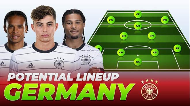 """Soi đội HOT nhất EURO: """"Cỗ xe tăng"""" Đức liệu có vô địch với """"chân gỗ"""" Timo Werner? - 1"""