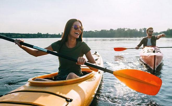 Tư vấn du lịch: Những lưu ý khi chèo kayak - 1