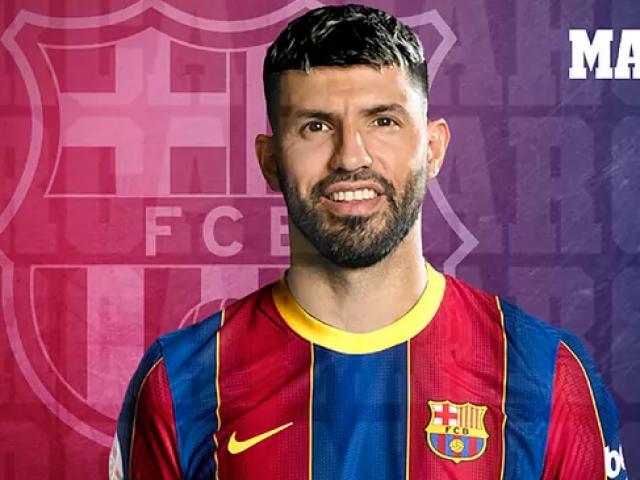 Nóng: Aguero chính thức gia nhập Barcelona, trợ chiến Messi ở Copa America