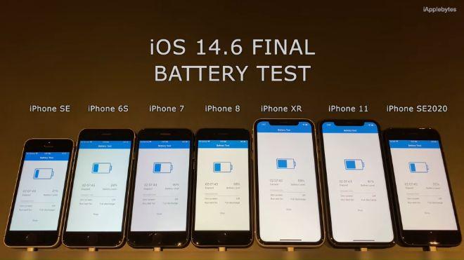 Video cho thấy pin iPhone tụt nhanh ra sao sau khi cập nhật iOS 14.6 - 1
