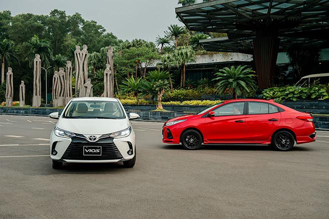 Giá xe Toyota Vios lăn bánh tháng 6/2021 - 1