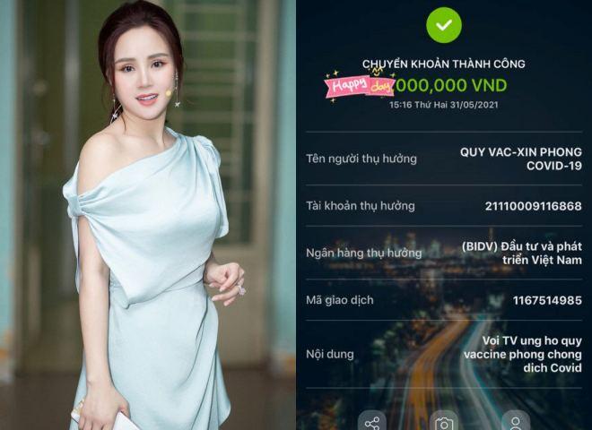 Vy Oanh tung bằng chứng làm từ thiện, nói điều bất ngờ sau ồn ào - 1