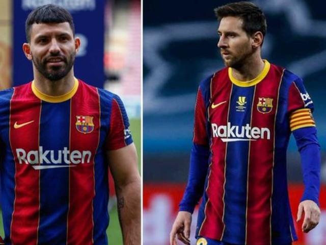 """Messi sẽ ở lại Barca tới 2023 vì Aguero: """"Bàn thắng"""" đáng giá của siêu sao Argentina"""