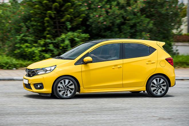 Giá xe Honda Brio lăn bánh tháng 6/2021, rẻ nhất 418 triệu đồng - 8