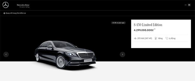 Mercedes-Benz Việt Nam tung ưu đãi một số dòng xe qua kênh mua sắm trực tuyến - 1