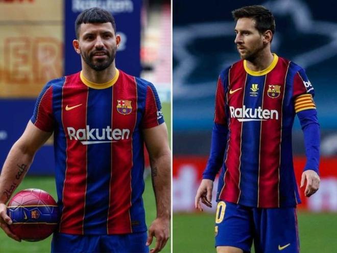 """Messi sẽ ở lại Barca tới 2023 vì Aguero: """"Bàn thắng"""" đáng giá của siêu sao Argentina - 1"""