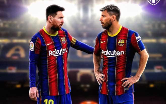 Aguero vừa đến Barca đã nhiễm Covid-19, Messi và ĐT Argentina hết hồn - 1