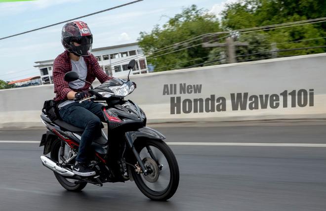 Cận cảnh Honda Wave 110i hoàn toàn mới, đưa bạn trốn khỏi cái nắng gắt - 1