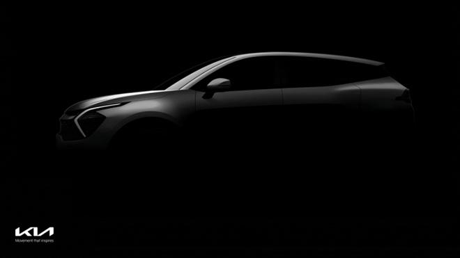 Xe SUV Sportage thế hệ mới được KIA nhá thêm hình ảnh nội thất - 1