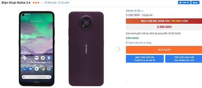 """Điểm mặt smartphone từ 2 triệu đang giảm giá """"sốc"""" - 1"""