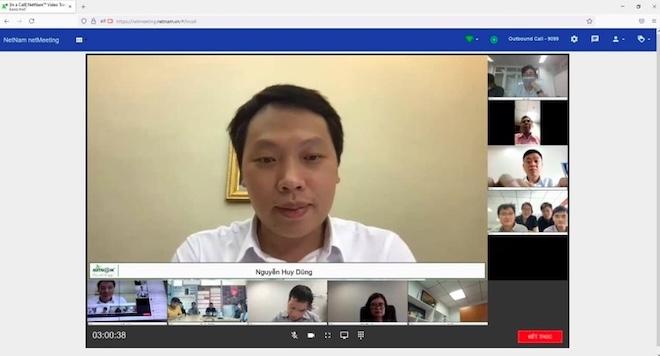 """Làm việc, hội họp không khoảng cách nhờ... công nghệ số """"make in Việt Nam"""" - 1"""