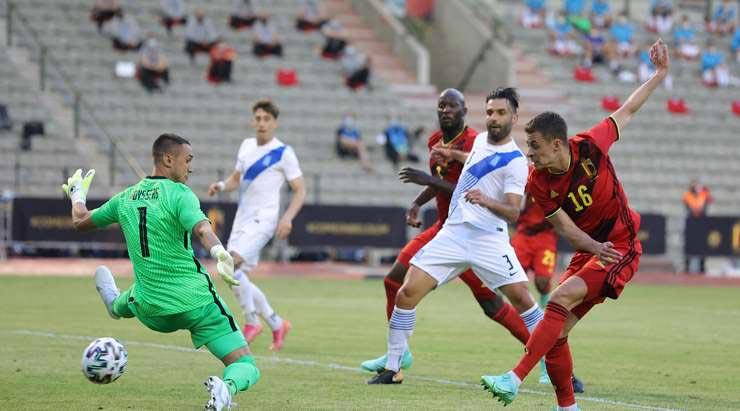 Video ĐT Bỉ - Hy Lạp: Em trai Hazard tỏa sáng, Lukaku bỏ lỡ đáng tiếc - 1