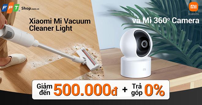 FPT Shop mở bán Mi Vacuum Cleaner Light và Mi 360° camera (1080P), giá giảm đến 500.000 đồng - 1