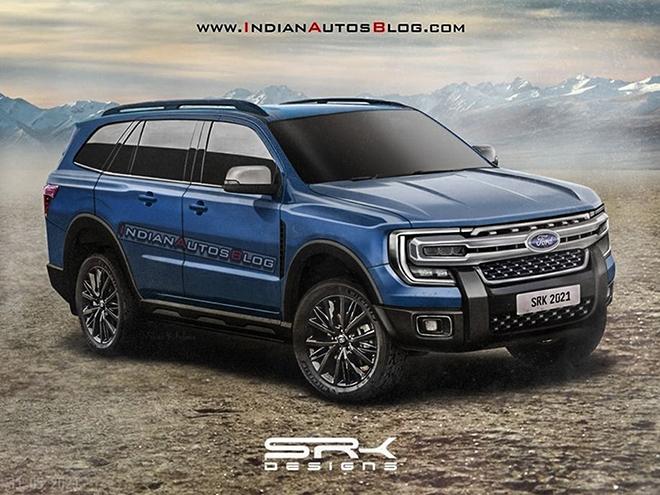 Ford Everest thế hệ mới lộ ảnh thiết kế cực ngầu - 1