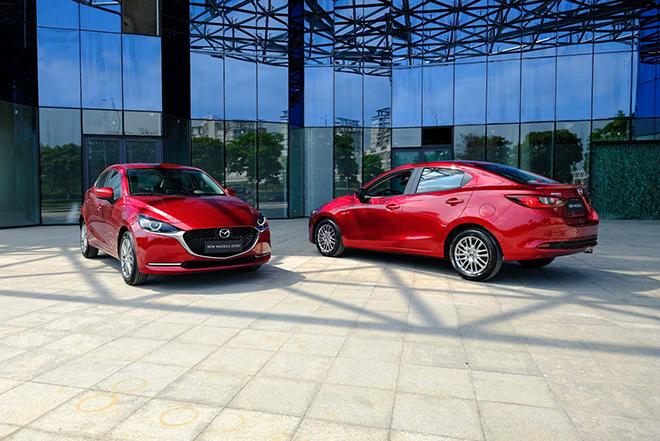 Giá xe Mazda2 lăn bánh tháng 6/2021 - 1