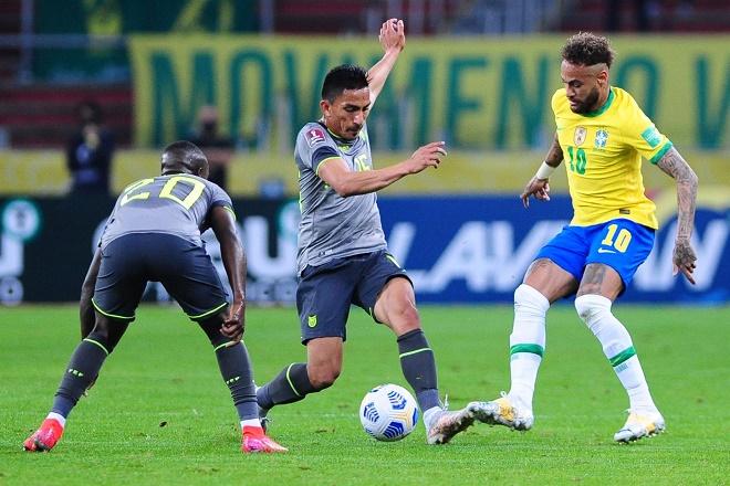 Video Brazil - Ecuador: Neymar tỏa sáng, kịch tính VAR dài 10 phút - 2