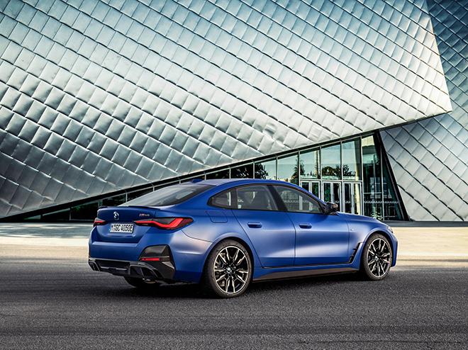 Xe điện BMW i4 M50 trình làng đi kèm giá bán hơn 1,5 tỷ đồng - 4
