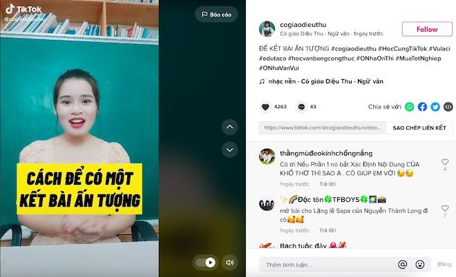 Ở nhà ôn thi online miễn phí với kênh #ONhaOnThi trên TikTok - 1