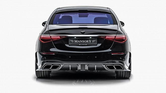 Hãng độ Mansory nâng cấp toàn diện Mercedes-Benz S-Class - 5