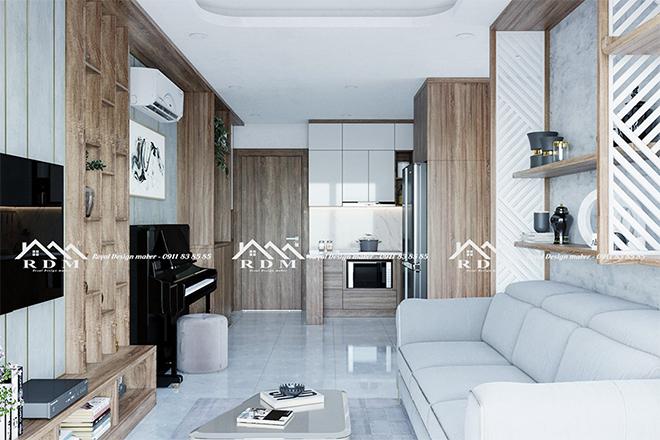 Thiết kế nội thất chung cư – thế mạnh của Nội thất Royal - 1