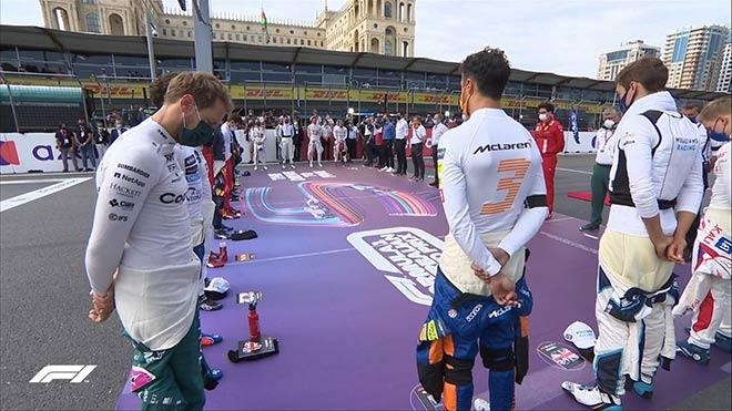 Đua xe F1, Azerbaijan GP: Mercedes bại trận trước Red Bull - 1