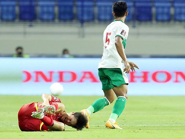 Tin mới chấn thương Tuấn Anh sau trận ĐT Việt Nam đại thắng Indonesia
