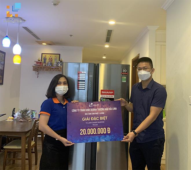 Mua thiết bị vệ sinh - gạch ốp lát trúng ngay tủ lạnh 20 triệu - 1