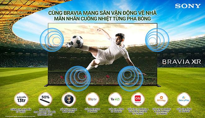 Sony Việt Nam ra mắt chương trình khuyến mãi hấp dẫn chào đón giải Vô địch Bóng đá Châu Âu 2021 - 1