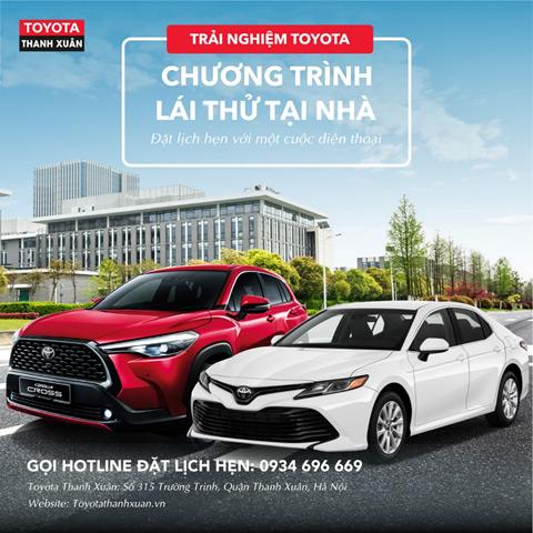 Toyota Thanh Xuân: Hỗ trợ mùa dịch - ưu đãi cực đỉnh - 1
