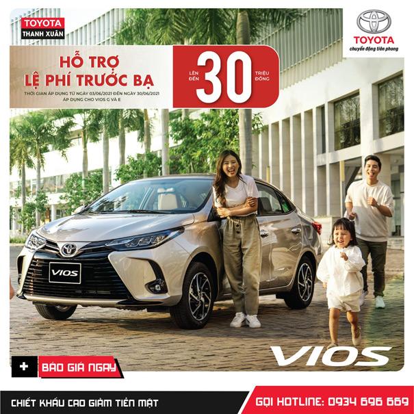 Toyota Thanh Xuân: Hỗ trợ mùa dịch - ưu đãi cực đỉnh - 2