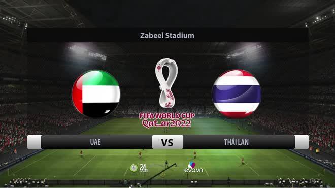 Video UAE - Thái Lan: Rượt đuổi hấp dẫn, định đoạt phút bù giờ