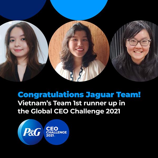 3 cô gái Việt Nam giành ngôi Á Quân cuộc thi P&G CEO Challenge 2021 - 1
