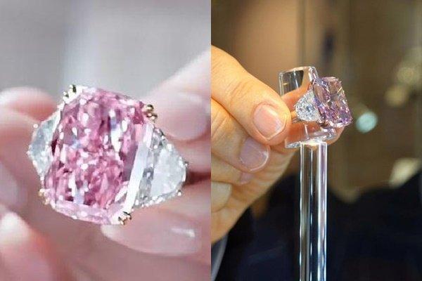 """Bí ẩn vị tỷ phú tất tay mua viên kim cương hồng """"độc nhất vô nhị"""" giá 29,3 triệu USD - 1"""