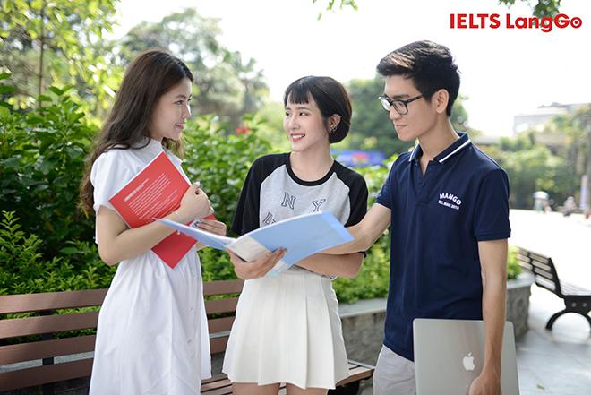 Học IELTS bằng phương pháp thay đổi tư duy tại LangGo - 1