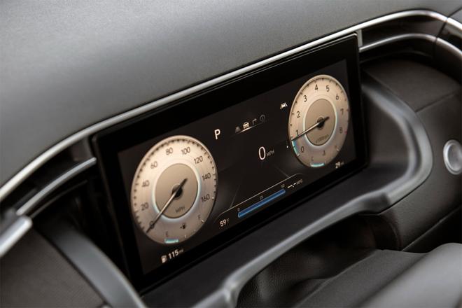 Hyundai Santa Cruz gây ấn tượng với mức tiêu thụ nhiên liệu tiết kiệm - 7