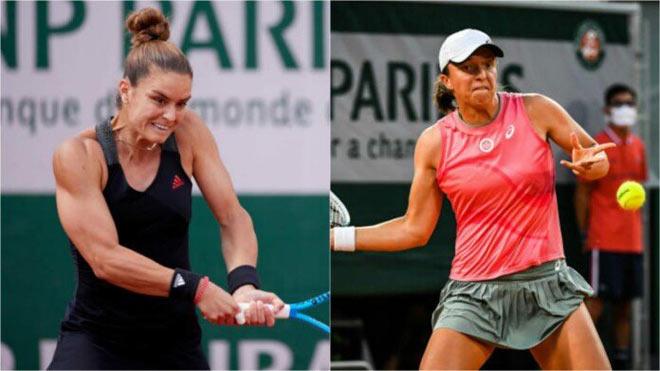Roland Garros ngày 11: Swiatek thành cựu Nữ hoàng, Sakkari vào bán kết - 1