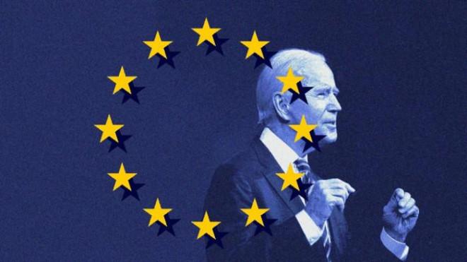 Các nhà báo Anh: EU tức giận vì Tổng thống Mỹ Joe Biden - 1