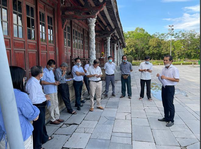 Xuất lộ nhiều dấu tích trong quá trình khai quật tại ngôi điện có nhiều đời vua Nguyễn - 1
