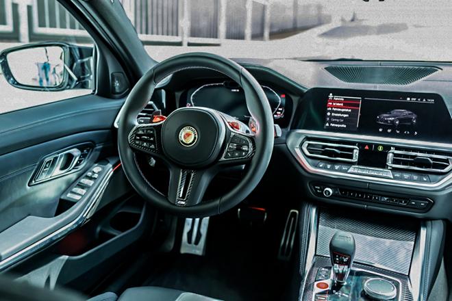 BMW M3 được hãng độ Manhart nâng công suất lên đến hơn 620 mã lực - 11