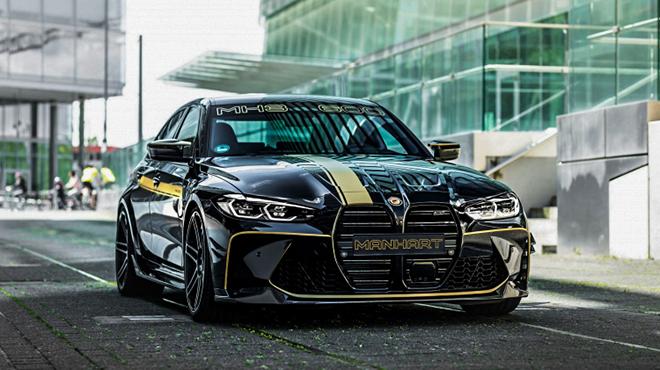BMW M3 được hãng độ Manhart nâng công suất lên đến hơn 620 mã lực - 1