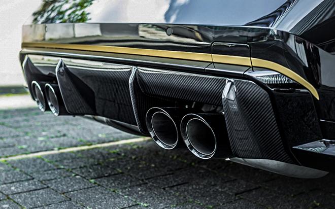 BMW M3 được hãng độ Manhart nâng công suất lên đến hơn 620 mã lực - 7