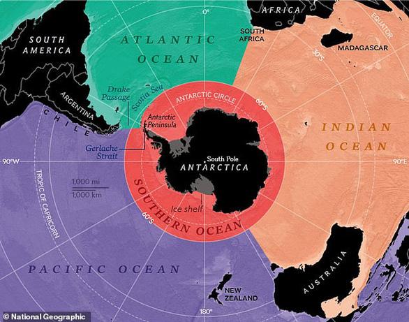 Trái đất chính thức có thêm đại dương thứ 5 - 1