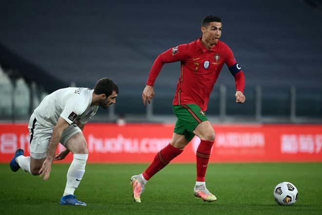 Video Bồ Đào Nha - Israel: Fernandes bùng nổ cú đúp, Ronaldo góp vui đại tiệc - 1