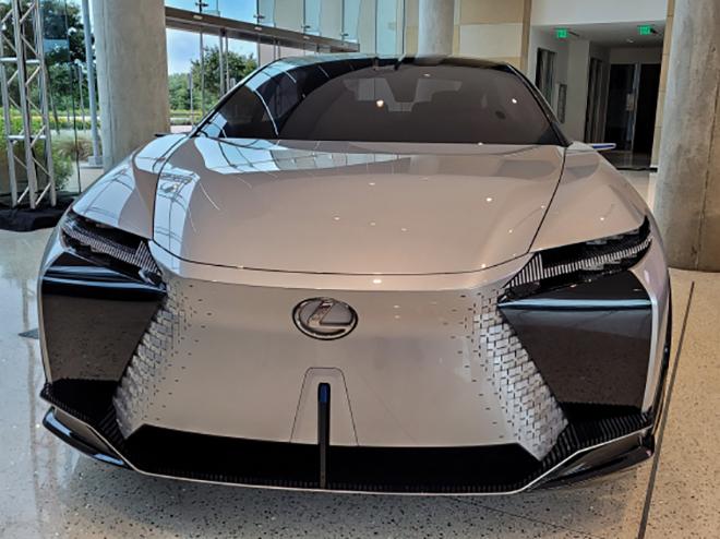 Cận cảnh mẫu xe SUV động cơ điện mới nhất của Lexus - 5