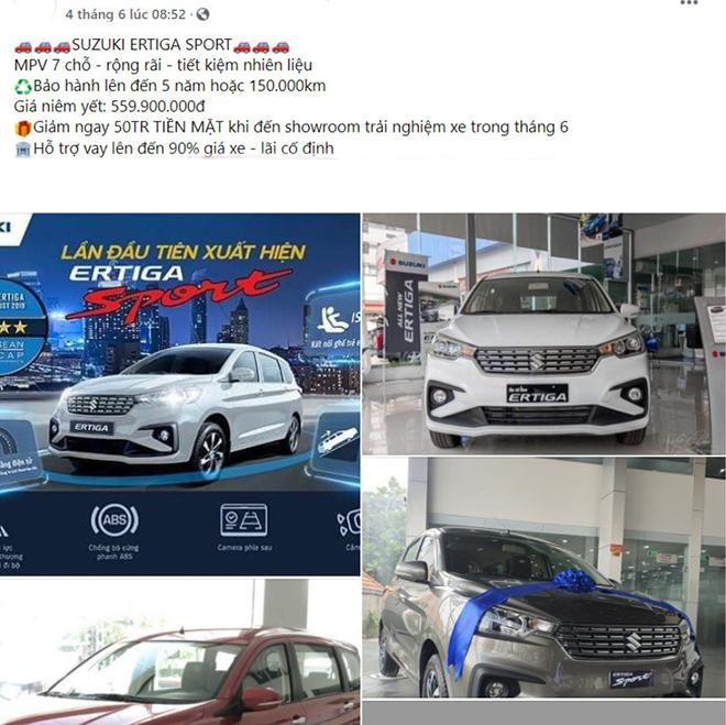 Suzuki Ertiga được đại lý giảm giá 50 triệu đồng dù đang bị thiếu hàng - 3