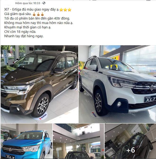 Suzuki Ertiga được đại lý giảm giá 50 triệu đồng dù đang bị thiếu hàng - 5