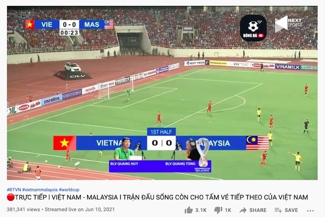 Lừa đảo phát trực tiếp trận Việt Nam - Malaysia vòng loại World Cup 2022 - 1